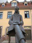 Denkmal auf dem Holzmarkt in Naumburg